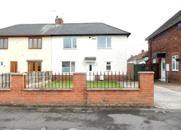 Thumbnail 3 bed semi-detached house for sale in Riddell Avenue, Langold, Worksop