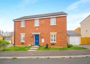 Thumbnail 4 bed detached house for sale in Lonydd Glas, Llanharan, Pontyclun
