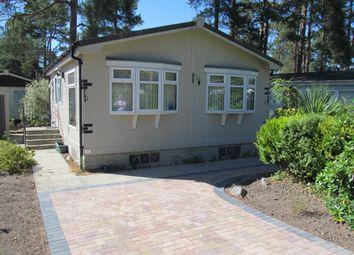 Thumbnail 1 bed mobile/park home for sale in Lone Pine Park (Ref 5961), Ferndown, Dorset