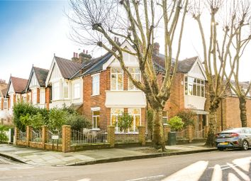 Thumbnail 4 bedroom end terrace house for sale in Madrid Road, Barnes, London