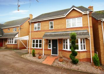 Thumbnail 4 bed detached house for sale in Columbine Road, Leicester, Leicestershire