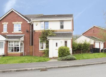 Thumbnail 3 bed detached house for sale in Cedar Wood Drive, Rogerstone, Newport