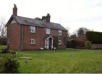 Thumbnail 4 bed detached house to rent in Macclesfield Road, Holmes Chapel, Crewe