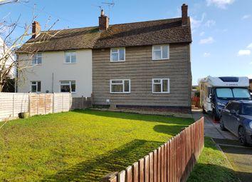 Thumbnail 3 bedroom semi-detached house for sale in Butt Lane, North Luffenham, Oakham