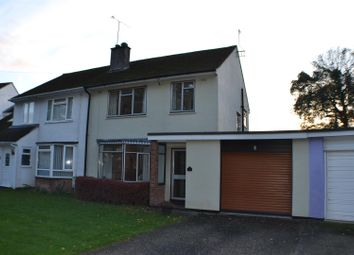 Thumbnail 3 bed semi-detached house for sale in Almswood Road, Tadley