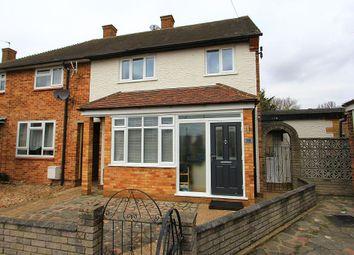 Thumbnail 2 bedroom end terrace house for sale in Dagnam Park Close, Romford, Essex