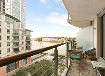 Thumbnail 2 bedroom flat for sale in St. George Wharf, London