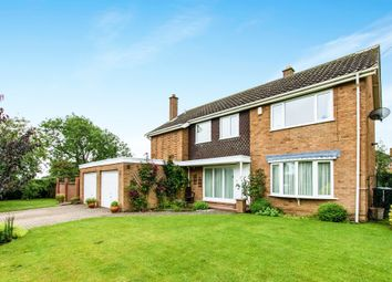 Thumbnail 4 bed detached house for sale in Dimmock Close, Harlaxton, Grantham