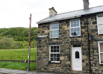 Thumbnail 2 bedroom end terrace house for sale in Glanmorfa Terrace, Tremadog, Porthmadog, Gwynedd