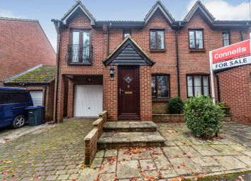 Thumbnail 3 bed semi-detached house for sale in Mill Road, Netheravon, Salisbury
