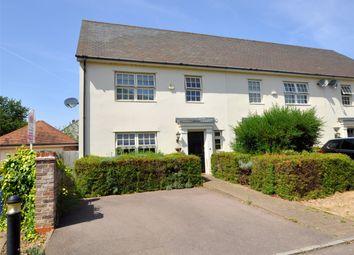 Thumbnail 4 bed end terrace house for sale in Carrington Place, Brampton, Huntingdon, Cambridgeshire