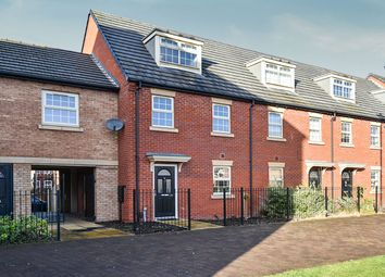 Thumbnail 3 bedroom town house for sale in Shaftesbury Crescent, Derby
