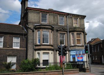 Thumbnail 1 bed flat to rent in London Road, King's Lynn