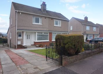 Thumbnail 2 bedroom semi-detached house for sale in Stewarton Drive, Cambuslang