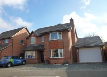 Thumbnail 5 bed detached house to rent in Heathley Park Drive, Leicester