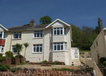Thumbnail 3 bed semi-detached house for sale in Coombe Road, Preston, Paignton