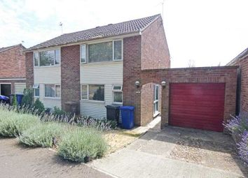 Thumbnail 2 bed semi-detached house for sale in Byrd Close, Bury St. Edmunds