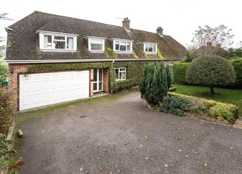 Thumbnail 3 bed semi-detached house for sale in Lyedowns, Ermin Street, Lambourn Woodlands, Hungerford