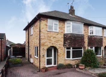 Thumbnail 3 bed semi-detached house for sale in Princess Avenue, Knaresborough