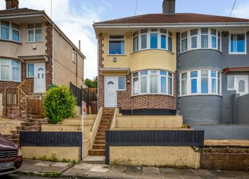 Thumbnail 3 bed semi-detached house for sale in Cardinal Avenue, Plymouth