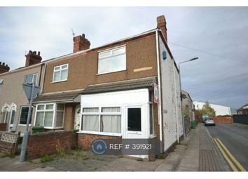Thumbnail 3 bed terraced house to rent in Gilbey Road, Grimsby