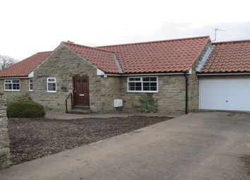 Thumbnail 2 bedroom bungalow to rent in Church Lane, Sinnington, York