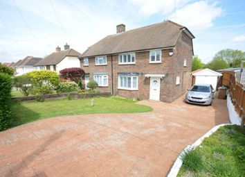 Thumbnail 3 bed flat to rent in Shawley Way, Epsom