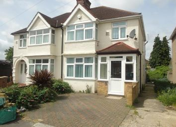 Thumbnail 4 bed semi-detached house to rent in Clevedon Gnds, Hounslow