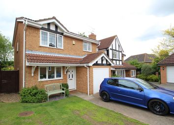 Thumbnail 3 bed detached house for sale in Houghton Place, Rushmere St Andrew, Ipswich