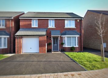 Thumbnail 4 bed detached house for sale in Hurricane Way, Rogertstone, Newport