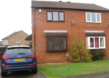 Thumbnail 2 bedroom semi-detached house to rent in Kelburn Close, East Hunsbury, Northampton