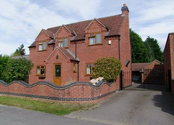 Thumbnail 4 bed detached house for sale in Church Broughton Road, Foston, Derby