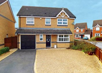 Thumbnail 4 bed detached house for sale in Tennyson Way, Stamford