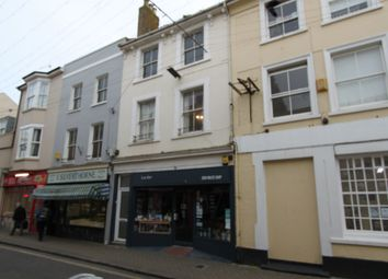 Thumbnail 3 bed flat to rent in Montague Street, Worthing