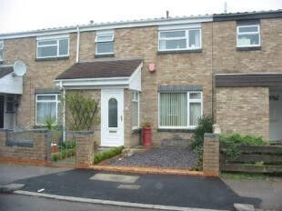 Thumbnail 3 bed terraced house to rent in Farrer Street, Farrer Street, Bedford, Bedfordshire
