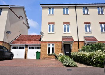 Thumbnail 4 bed semi-detached house for sale in Academia Avenue, Broxbourne