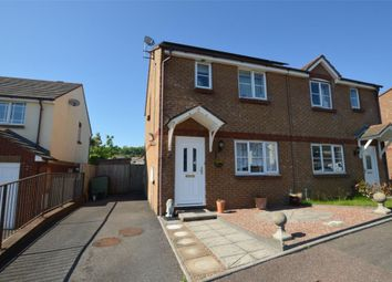 Thumbnail 3 bed semi-detached house for sale in Pitcairn Crescent, The Willows, Torquay, Devon