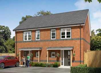"Thumbnail 2 bed semi-detached house for sale in ""The Langford"" at Cobblers Lane, Pontefract"
