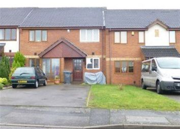 Thumbnail 2 bed terraced house to rent in Mellish Road, Rugby, Warwickshire