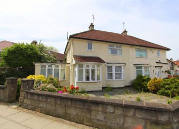 Thumbnail 3 bed semi-detached house for sale in Chatterton Road, Liverpool
