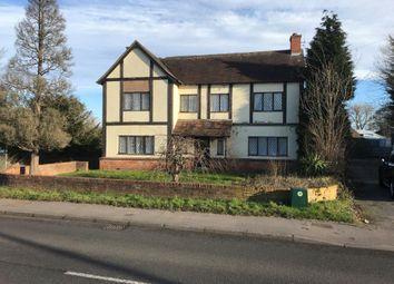 Thumbnail 4 bed farmhouse for sale in Dovecliff Road, Stretton, Burton-On-Trent, Staffordshire