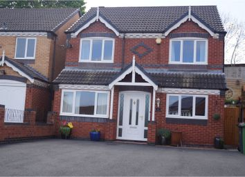 Thumbnail 4 bedroom detached house for sale in Reed Close, St Georges Telford
