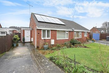 Thumbnail 2 bed semi-detached bungalow for sale in Sambourne Gardens, Warminster