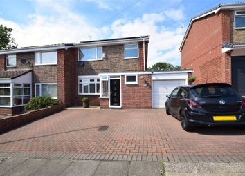 Thumbnail 3 bed semi-detached house for sale in Barras Drive, Elstob, Sunderland