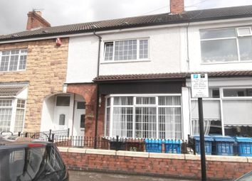 Thumbnail 4 bedroom terraced house to rent in Alliance Avenue, Hull
