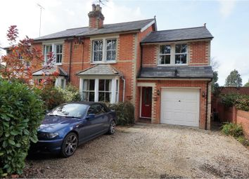 Thumbnail 4 bed semi-detached house for sale in Old Wokingham Road, Crowthorne