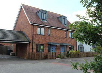 Thumbnail 3 bedroom end terrace house for sale in Firefly Road, Upper Cambourne, Cambridge