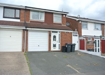 Thumbnail 3 bedroom semi-detached house for sale in Grenville Drive, Erdington, Birmingham