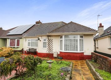 Thumbnail 2 bedroom semi-detached bungalow for sale in Manor Hall Road, Southwick, Brighton