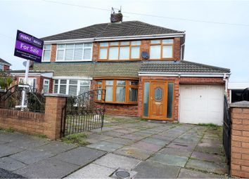 Thumbnail 3 bed semi-detached house for sale in Hazel Avenue, Kirkby